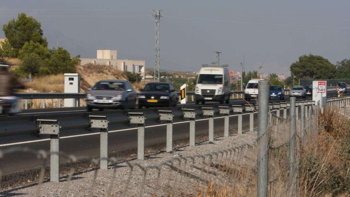 Los 7 radares que más multas interpusieron en 2020 en las provincias de Alicante, Valencia y Castellón.