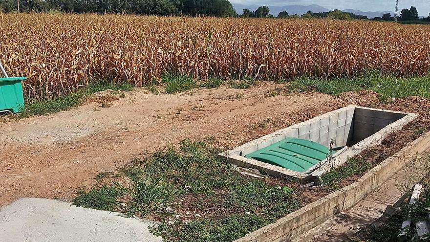Resolt el tema del dipòsit de la granja de Cabanes