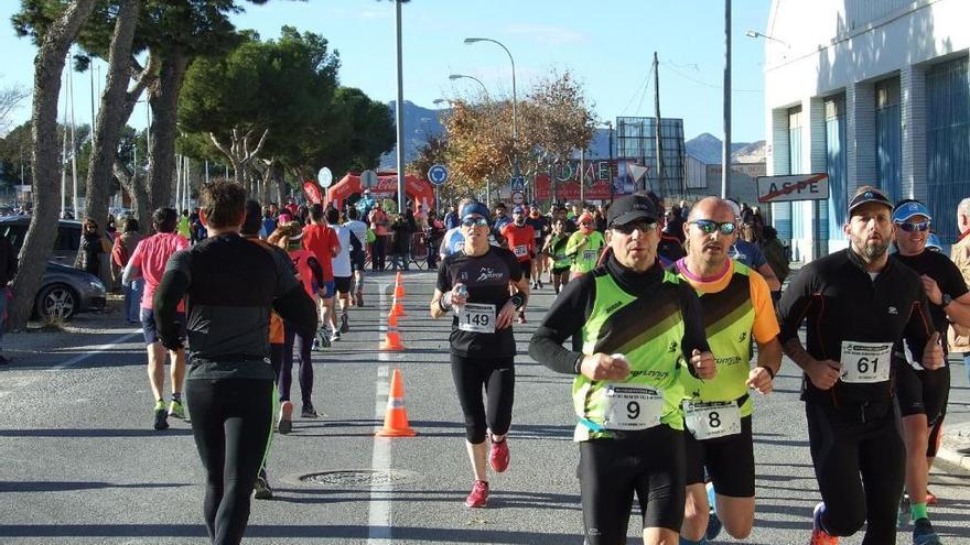 Los deportistas de Aspe recorren más de 450.000 kilómetros