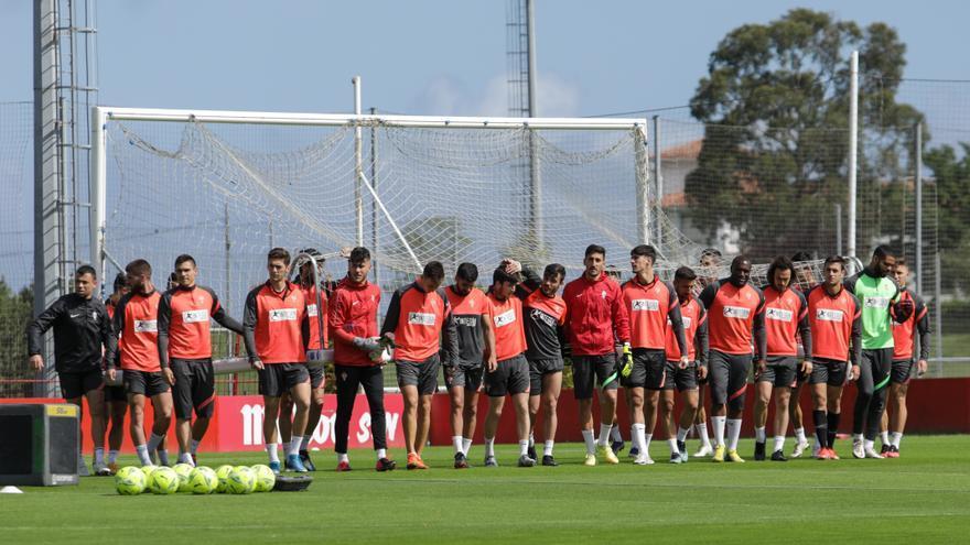 Guille y Pedro Díaz, novedades en el Sporting para el vital partido ante Las Palmas