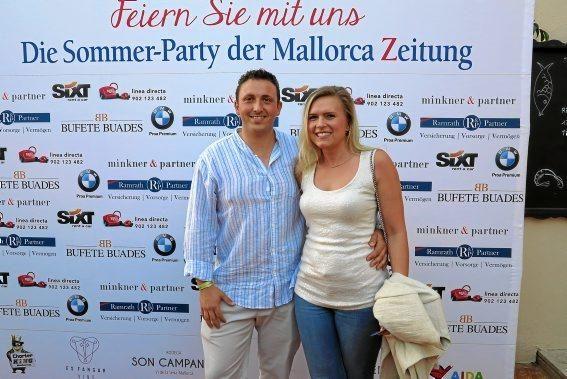 Andrea Schneider und Marcel Gomez