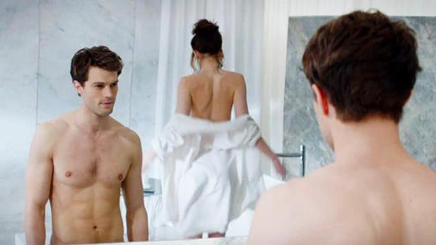 Dakota Johnson y los desnudos de 'Cincuenta Sombras de Grey'