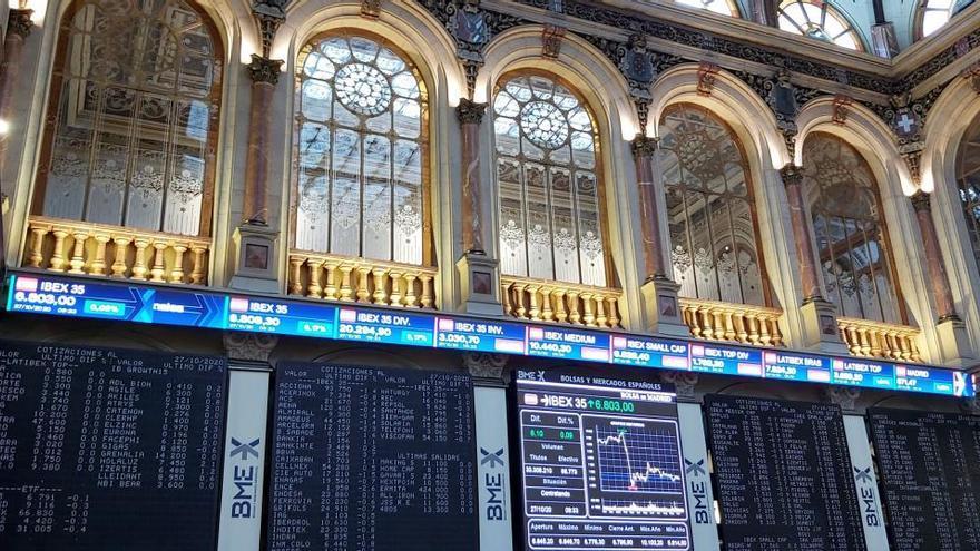 El Ibex 35 cae un 1,4% y pierde los 6.600 puntos