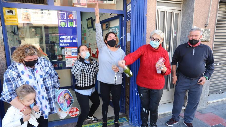 The second prize of the Lottery leaves 1.2 million in Callosa de Segura
