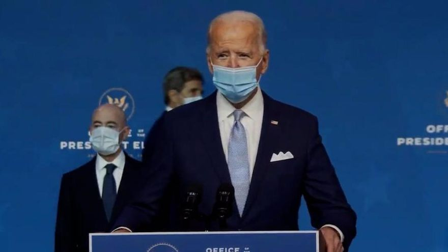 Biden clama por un nuevo rescate