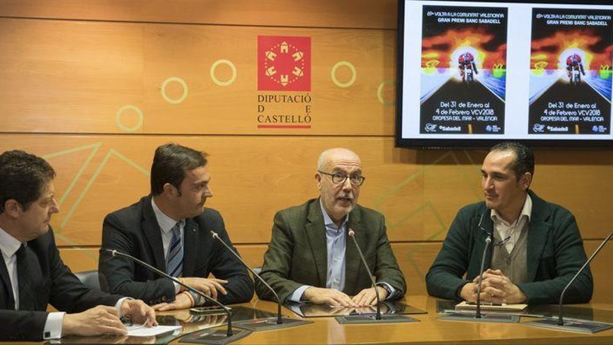 La LXIX Volta a la Comunitat Valenciana, punto de partida del calendario de 'Castellón Escenario Deportivo' de la Diputación