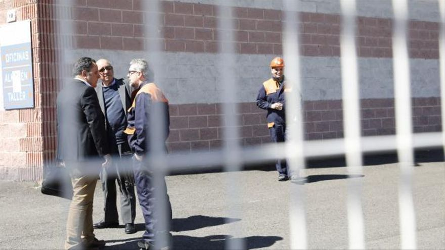 Los responsables de Tuinsa piden el apoyo de la Guardia Civil para salir de la empresa