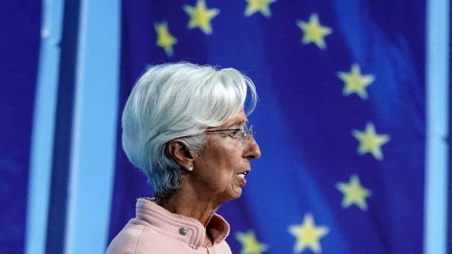 """Lagarde ve riesgos """"limitados"""" de que la inflación elevada se perpetúe"""