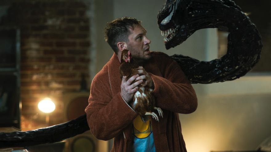'Venom: habrá matanza' se convierte en el mejor estreno en los cines españoles desde la pandemia