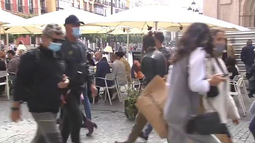 Andalucía cierra sus fronteras hasta el próximo 9 de noviembre, y confina Granada, Sevilla y Jaén