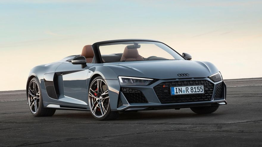 Audi R8 Spyder: deportivo, extremo, atmosférico y descapotable
