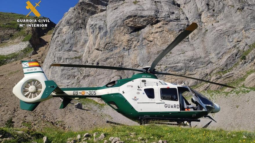 La Guardia Civil pide precaución en la montaña tras rescatar a 14 personas en Huesca