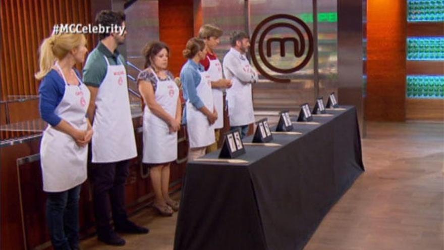 Nervios y lágrimas en 'Masterchef Celebrity' a las puertas de las semifinales