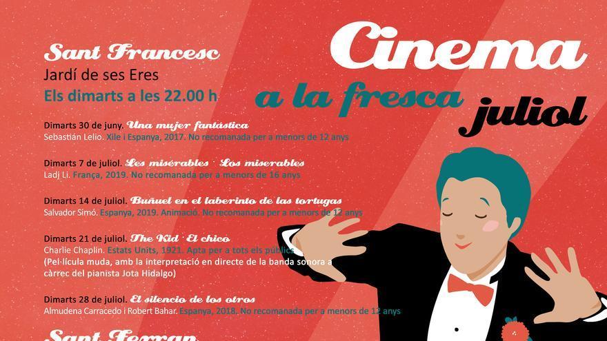 Cinema a la fresca 2020 a Sant Ferran: Mi amigo el gigante