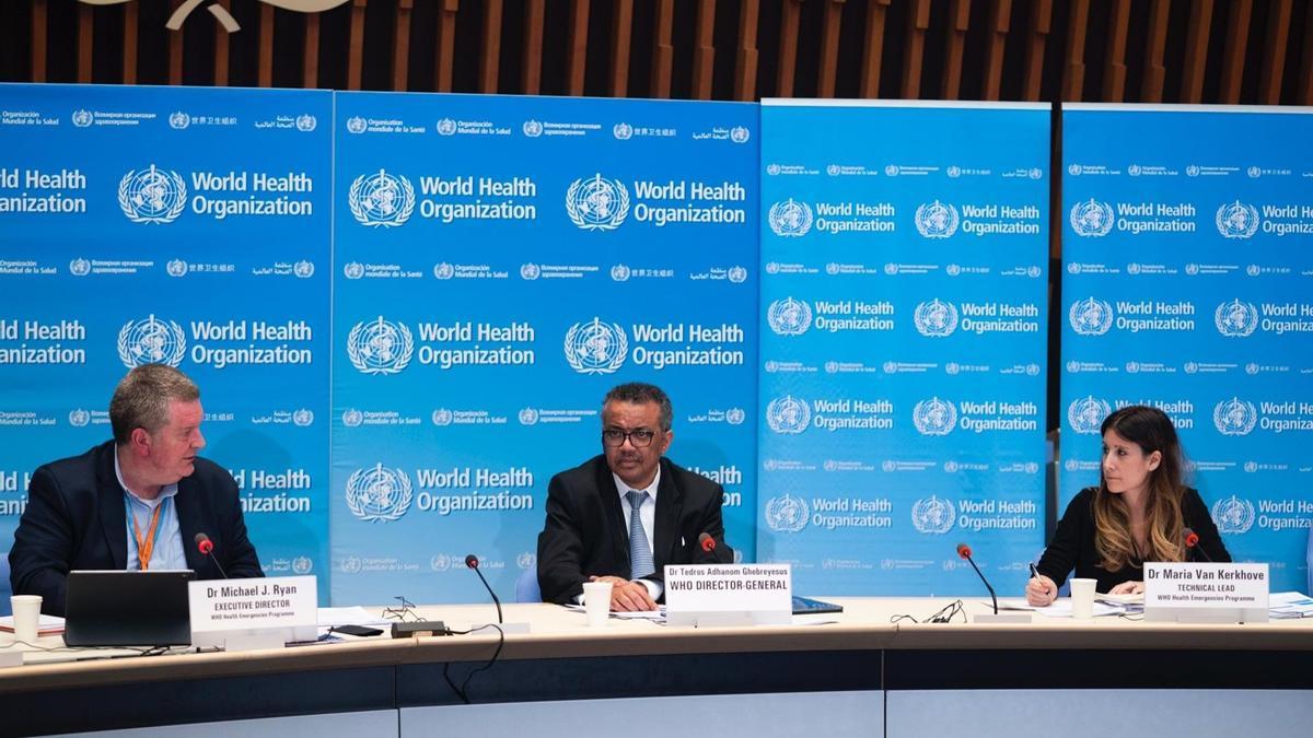 El director general de la OMS, Tedros Adhanom Ghebreyesus, comparece en rueda de prensa