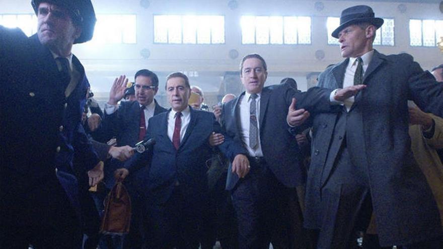 'El irlandés', de Scorsese, protagoniza los estrenos de esta semana