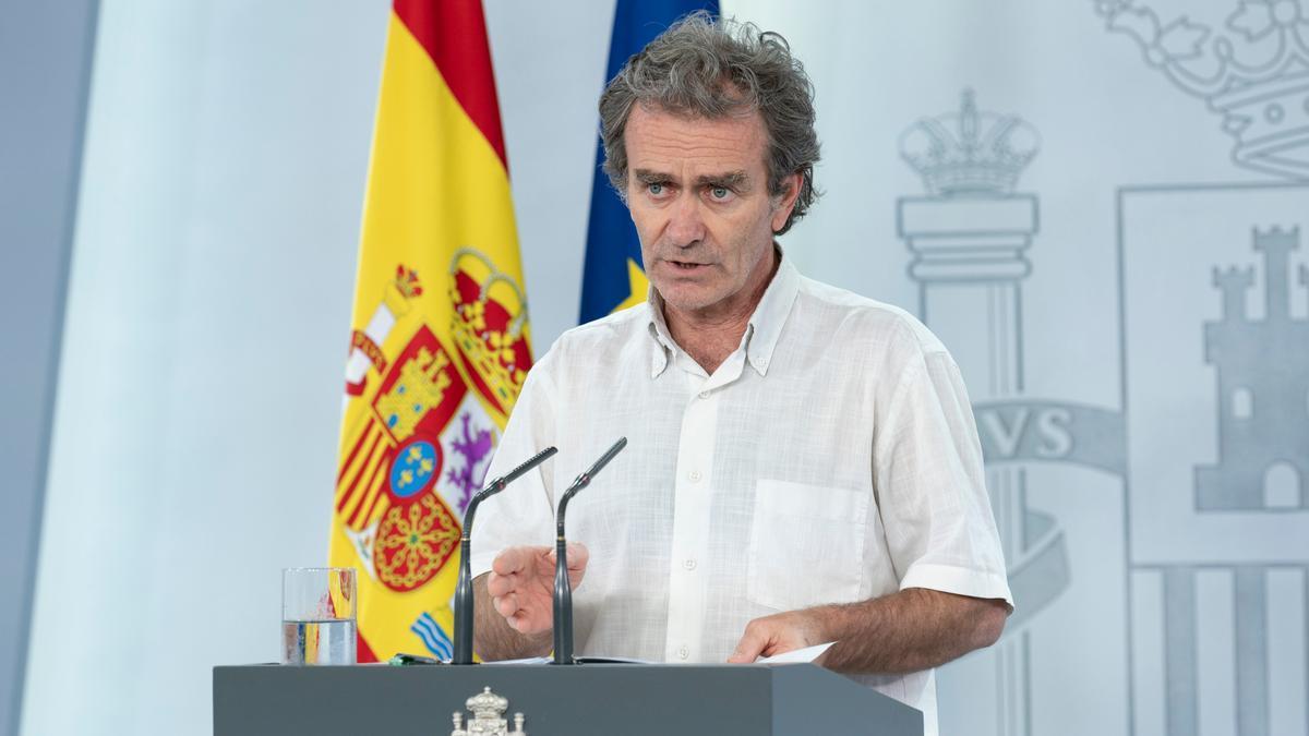 El responsable de Sanitat, Fernando Simón
