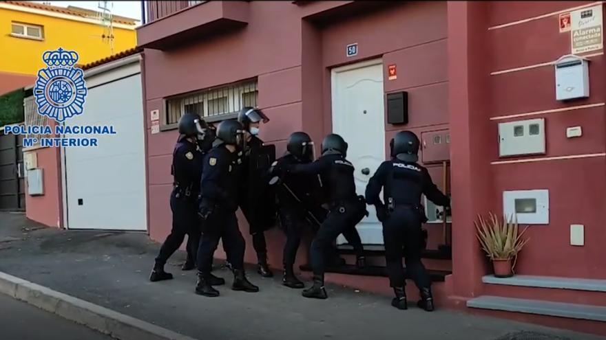 20 detenidos de una organización dedicada al tráfico de inmigrantes y drogas en Tenerife