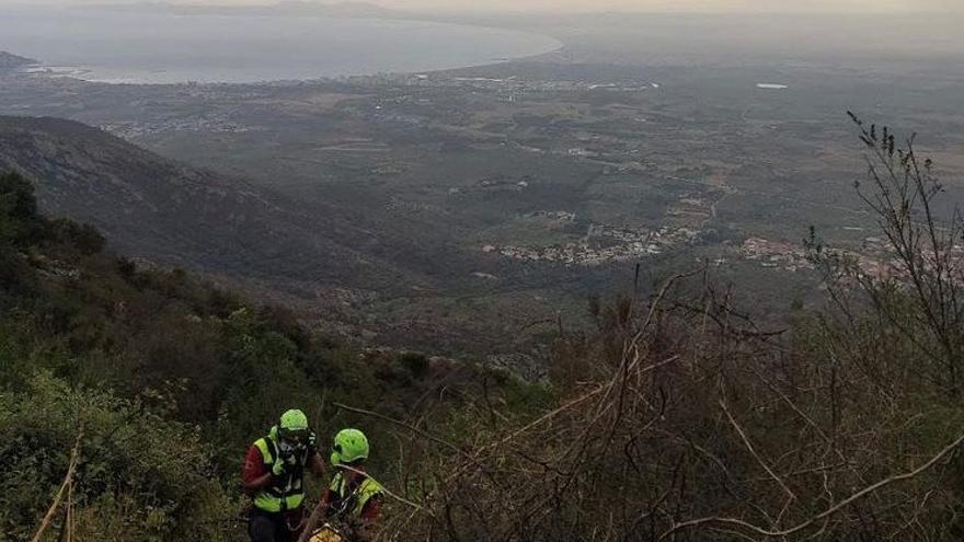 Nou servei al medi natural per part dels Bombers, a Port de la Selva