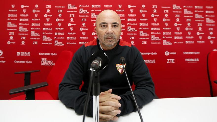 El Sevilla anuncia la salida de Sampaoli hacia Argentina