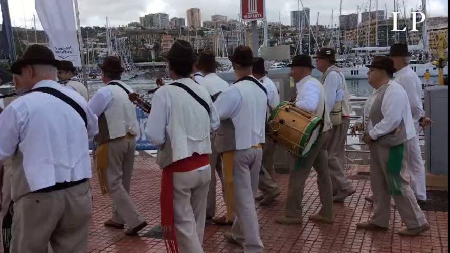 Salida de los barcos participantes en la regata ARC 2019