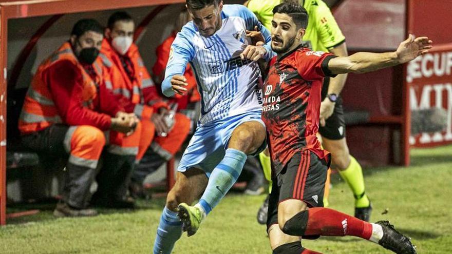 El Málaga CF busca soluciones a la lesión de Pablo Chavarría