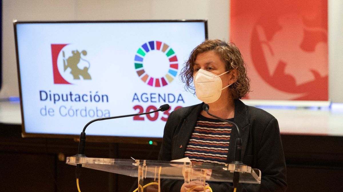 Alba Doblas, delegada de Igualdad de la Diputación de Córdoba.