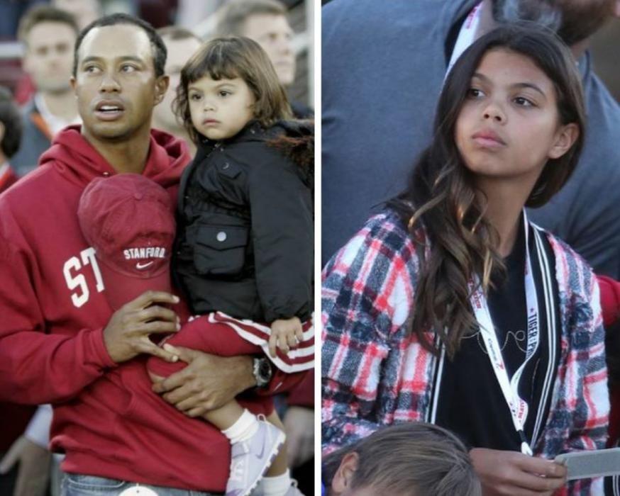 Sam Alexis, la hija de Tiger Woods.