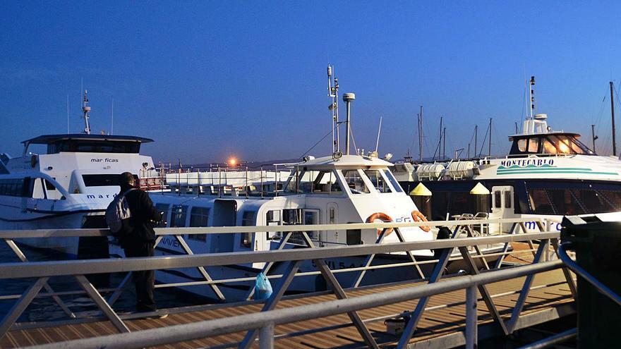 Portos ampliará el pantalán de pasajeros de Cangas e instalará otro para los barcos a Cíes