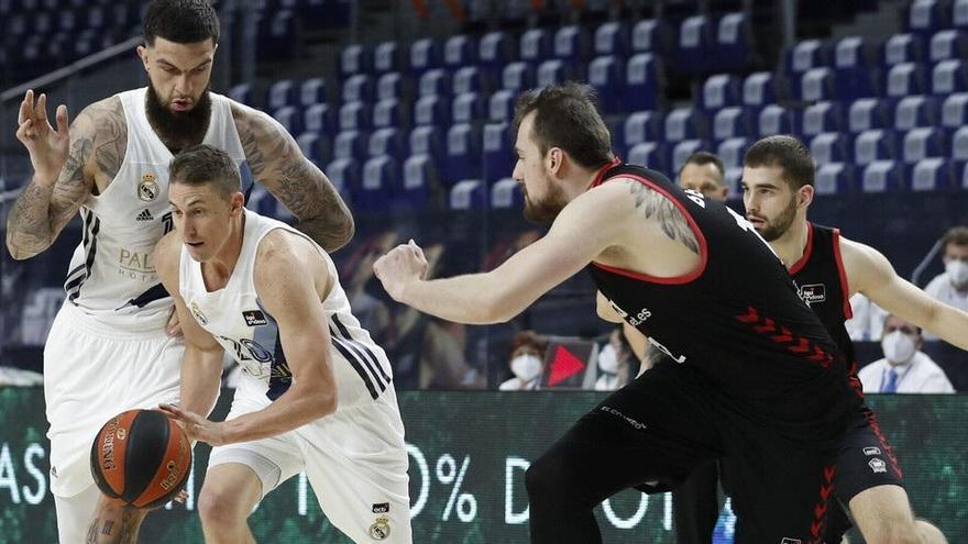 El Madrid vence al Bilbao Basket y asegura el liderato