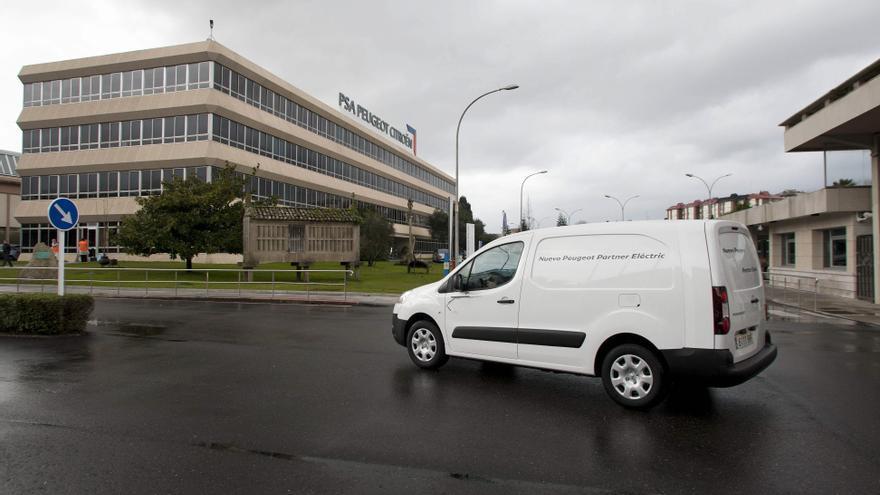 La fábrica británica de Ellesmere Port hará la versión eléctrica de las furgonetas viguesas de Stellantis