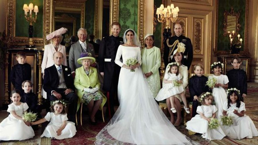 Las fotografías oficiales de la boda del príncipe Harry y Meghan Markle