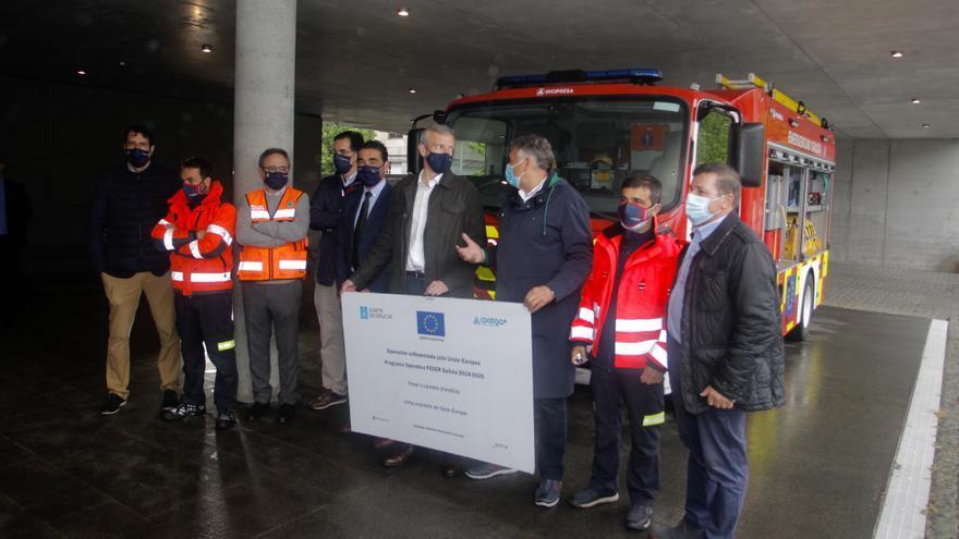 Emerxencias de Sanxenxo amplía su parque de vehículos
