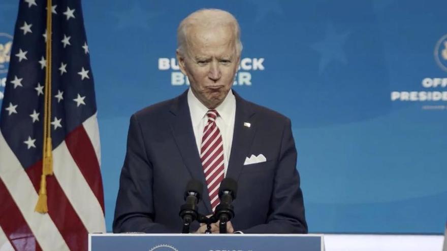 Biden pide usar mascarilla durante sus 100 primeros días a los estadounidenses