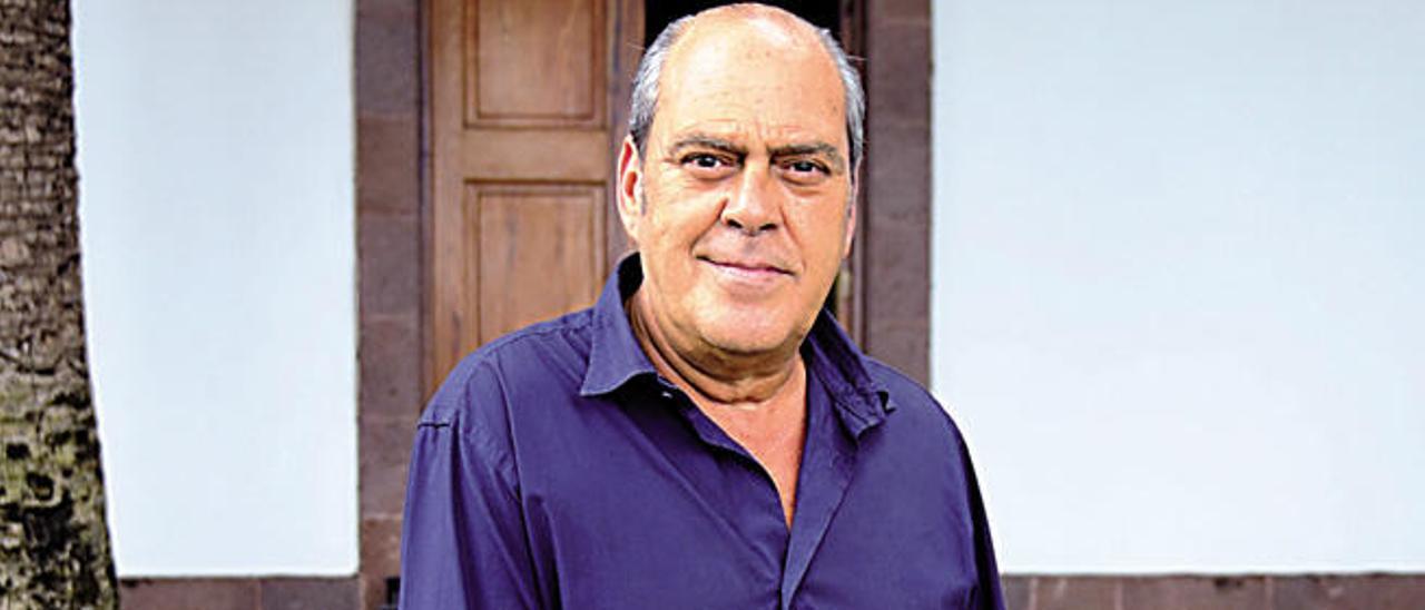 Antonio Calcines, alcalde de Agaete