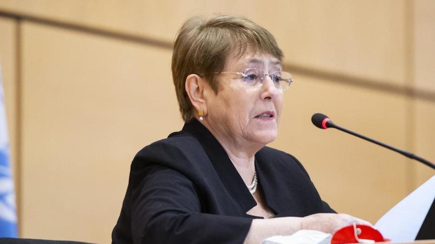 Bachelet reclama a Rusia una investigación sobre Navalni