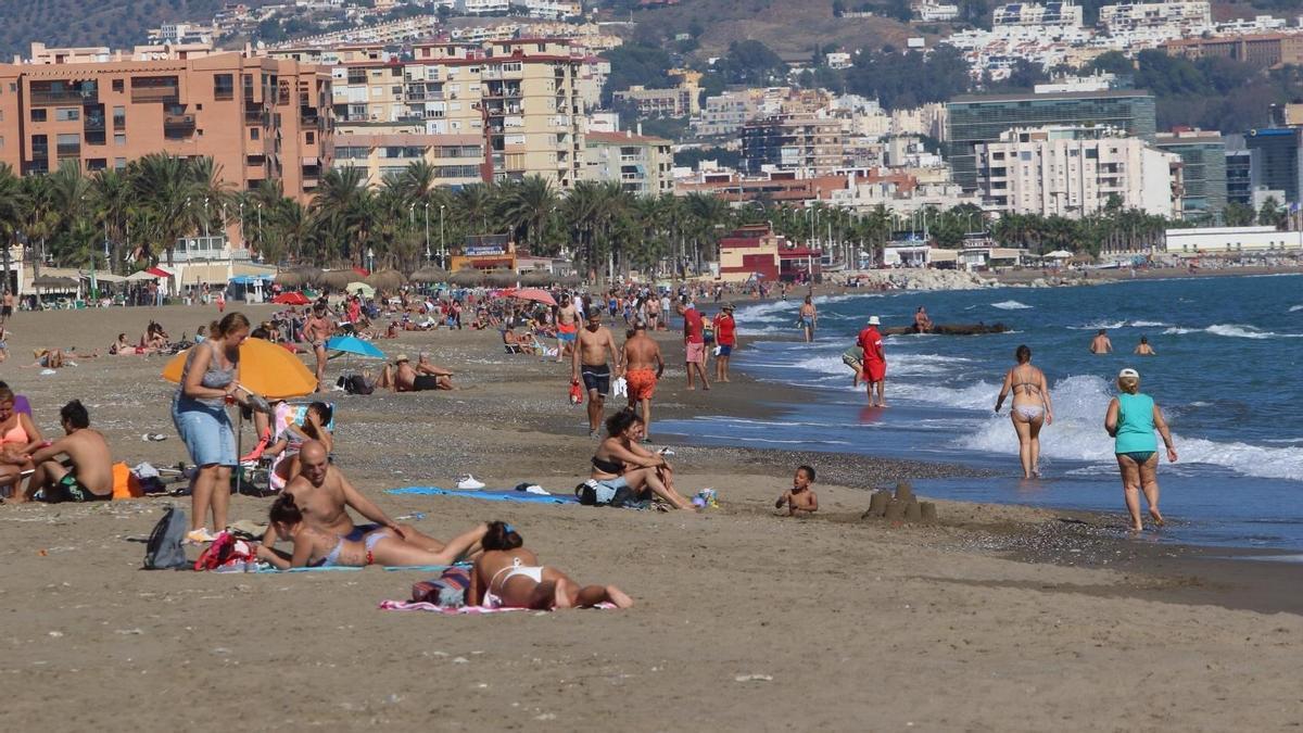 Imagen de archivo de la playa de La Misericordia.