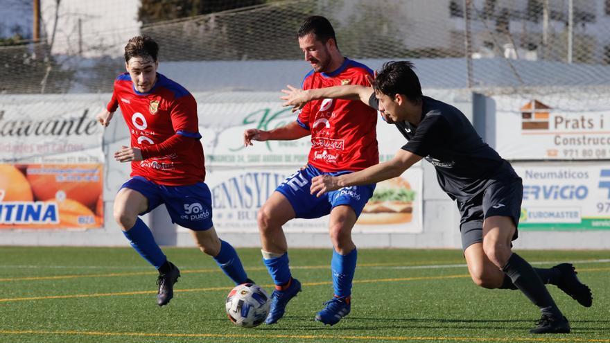 CD Ibiza y Sant Jordi ganan fuera  y el Portmany saca un empate en casa