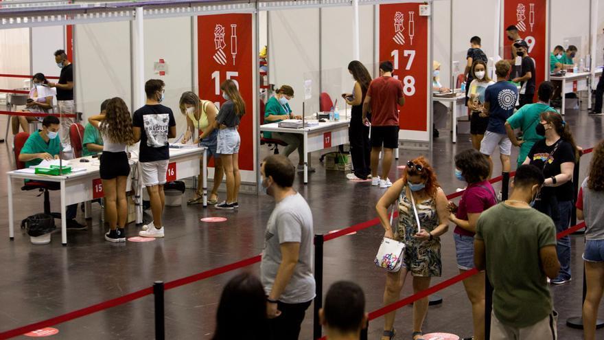 La circulación del covid en la provincia de Alicante se concentra en los menores de 12 años