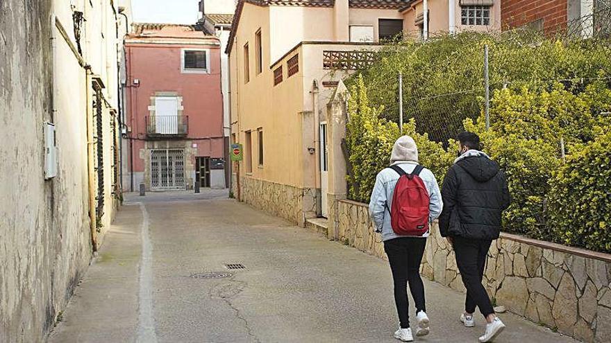 Un passatge de Sarrià passarà a ser sols per a vianants i bicicletes