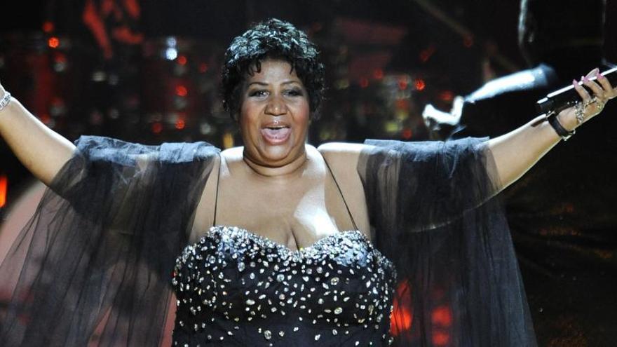 La música rinde tributo a Aretha Franklin