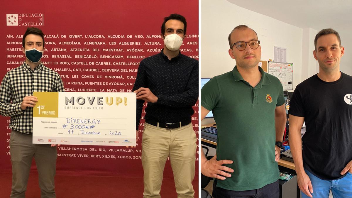 Robert, Pau, Á. Carlos y Carlos, ejemplos de emprendedores de Castellón que han apostado por el cooperativismo