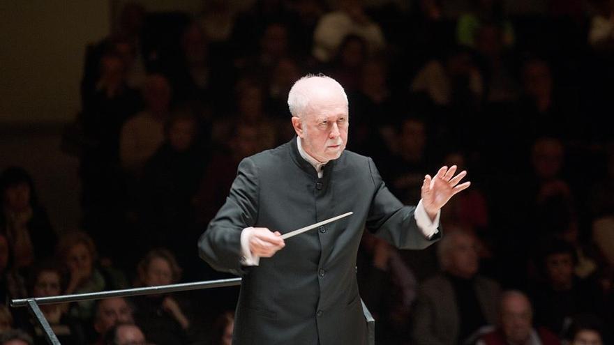 La 2 emite cinco conciertos de la OSCyL dirigidos por Jesús López Cobos