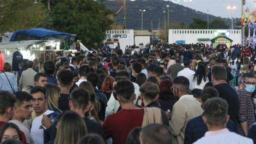 Otro espectacular 'llenazo' en la feria de Cáceres