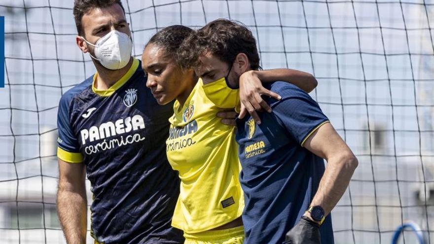 La importante lesión de Salma Paralluelo, la prometedora futbolista/atleta del Villarreal