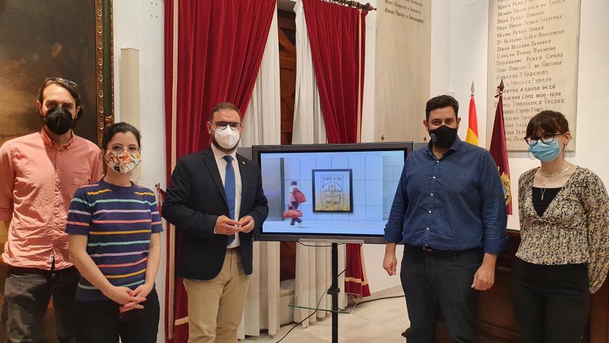 Lorca presenta un emblema conmemorativo para el X aniversario de los terremotos de 2011