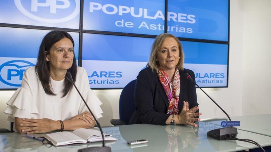 """Mercedes Fernández: """"La coalición PP- Foro desplegó sus efectos para dar un plus de recursos a Asturias"""""""