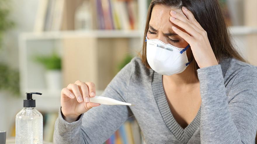 Unos 7.200 gallegos sufren síntomas de COVID meses después de la PCR negativa