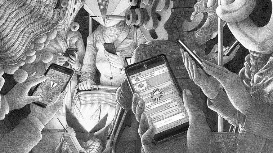 Alienados de barro, barrio y cristal móvil