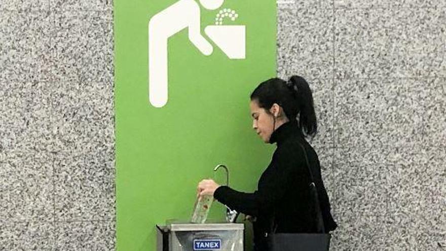 Mehr Gratiswasser am Flughafen von Mallorca